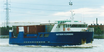 Matthew Flinders cargo ship