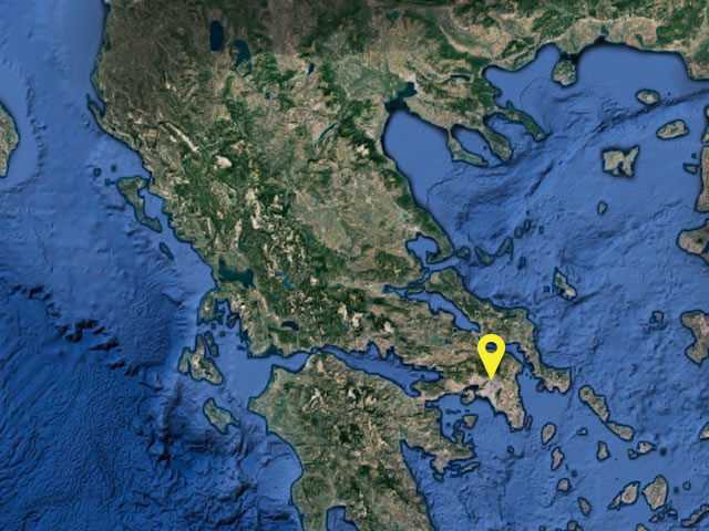 Greece vessel location