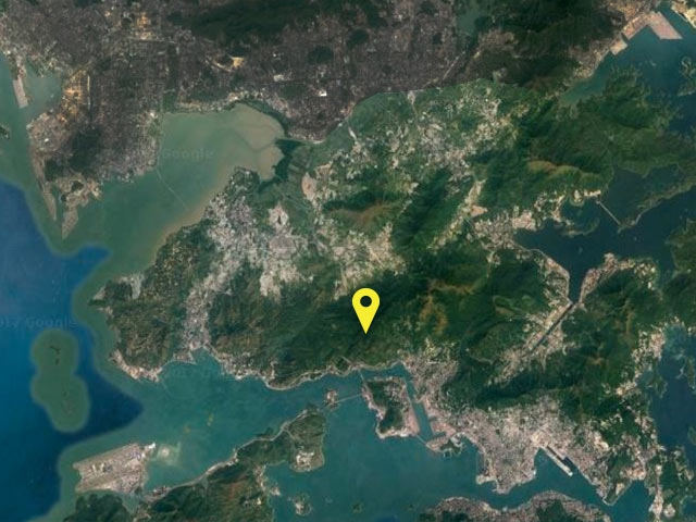 Hong Kong vessel location