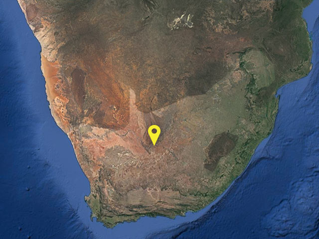 South Africa vessel location