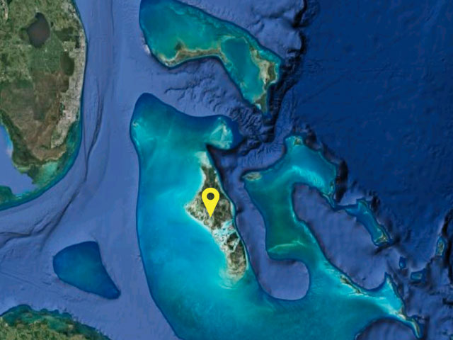 Bahamas vessel location