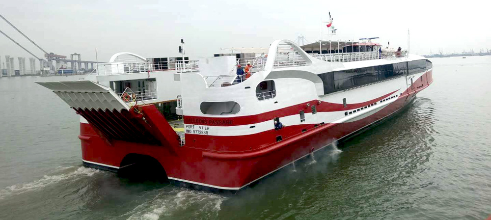 74m catamaran ferry design