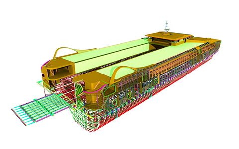 3D Ship Model by Sea Transport Solutions