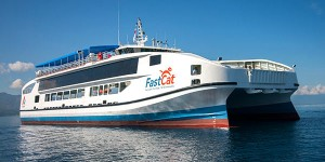 Fast Cat Ferry by Sea Transport