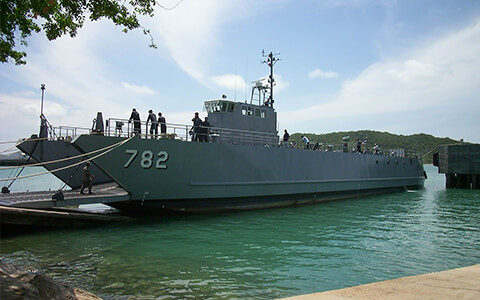 Thai Naval Vessel