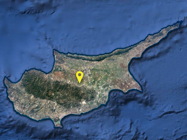 Cypress Turkey vessel location