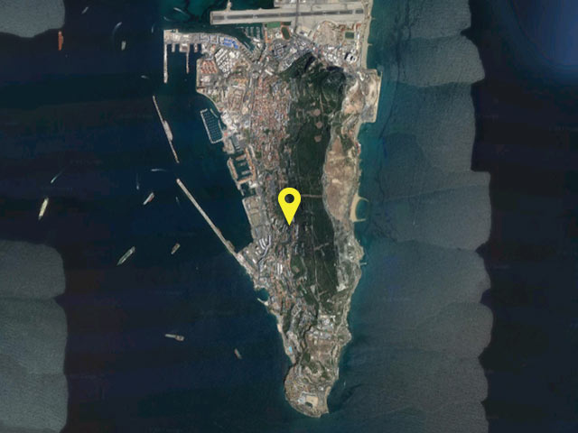 Gibraltar vessel location
