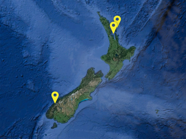 New Zealand ferry location