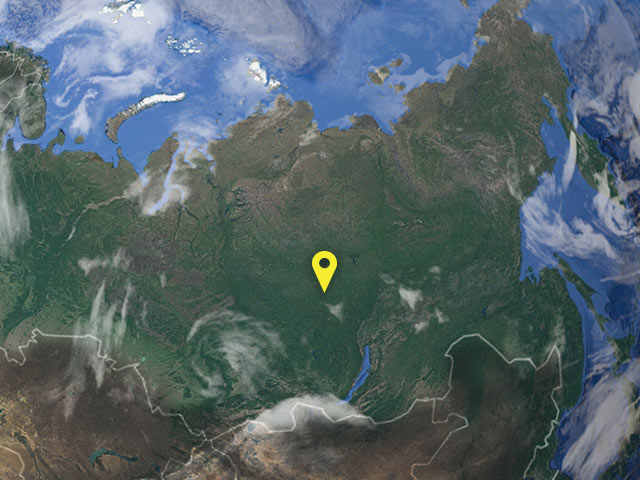 Russia vessel location