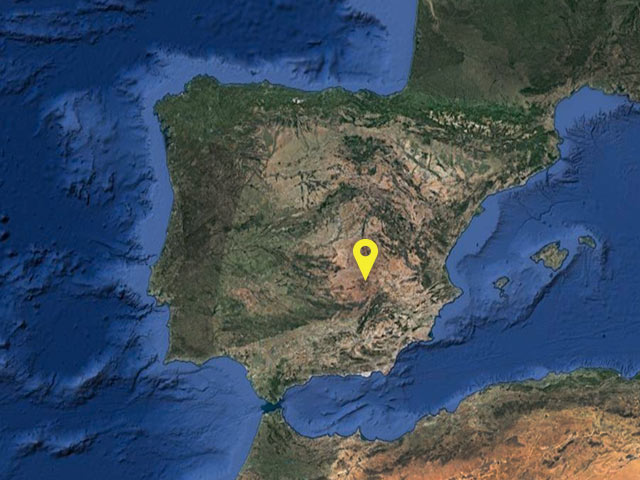 Spain vessel location