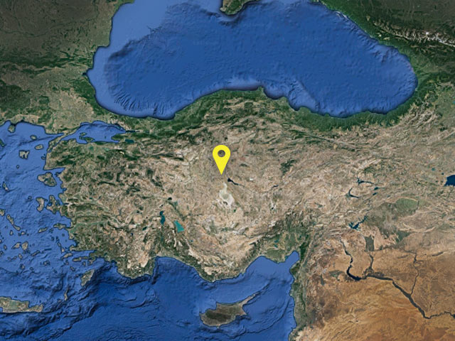Turkey vessel location