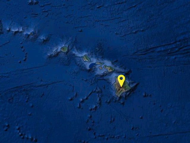 Hawaii vessel location