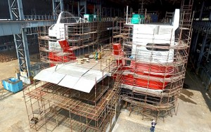 project management for ship construction