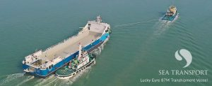lucky eyre transhipment ship by sea transport
