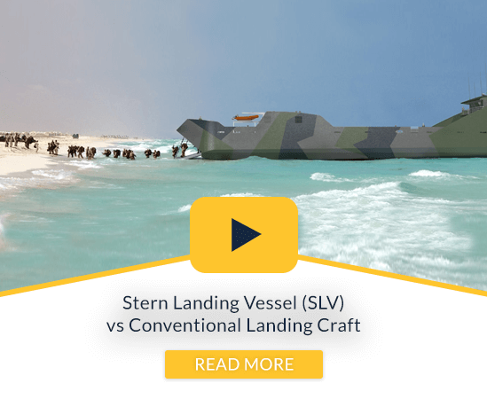 Stern landing vessels by Sea Transport