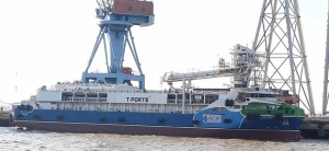 Lucky Eyre Transhipper Vessel