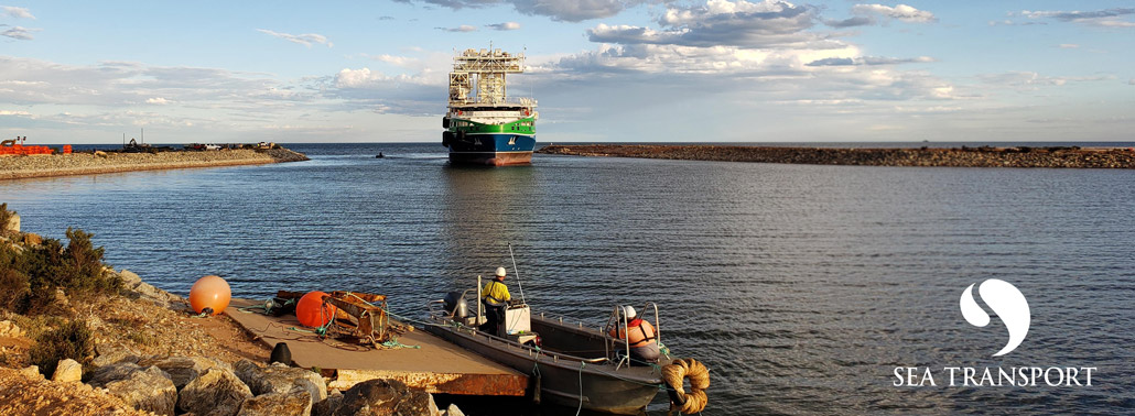 STS Lucky Eyre Transhipment Vessel